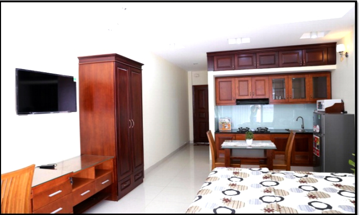 Luxurious Studio Serviced Apartment For Lease on Truong Dinh St, Dist3
