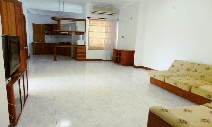 Beautifully Two-Bedrooms Serviced Apartment For Rent, District 3, HCMC.