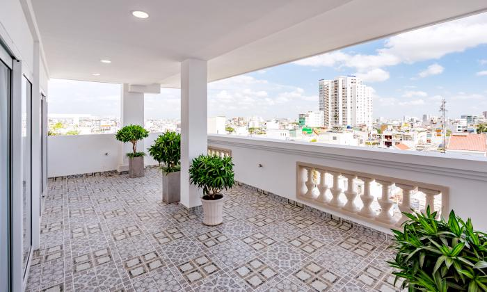 Excellent Penthouse Emerald Seviced Apartment For Rent in District 3 Ho Chi Minh city