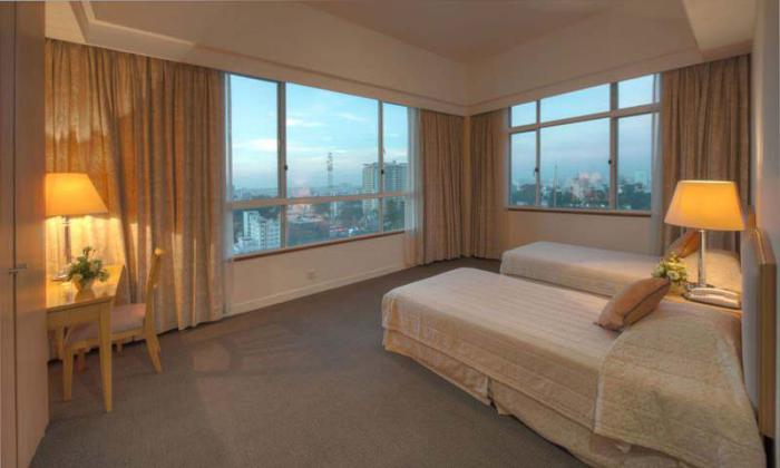 Dazzling Penthouse Indochine Park Tower Serviced Apartment For Lease