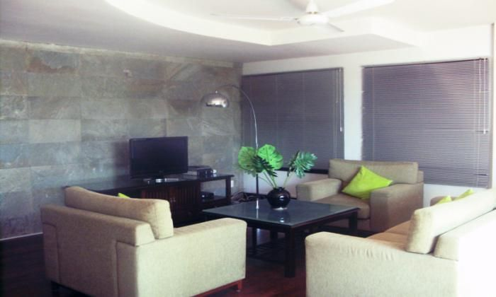 Apartment For Rent With Big Terrace, District 3, HCM City