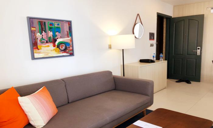 One Bedroom Penthouse Oakwood Apartment For Rent in District 3 HCMC