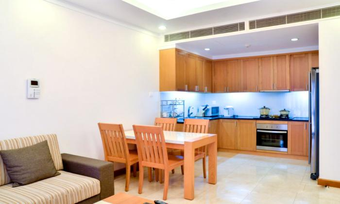 One Bedroom Saigon Pavillon Serviced Apartment For Rent Dist 3 HCM City