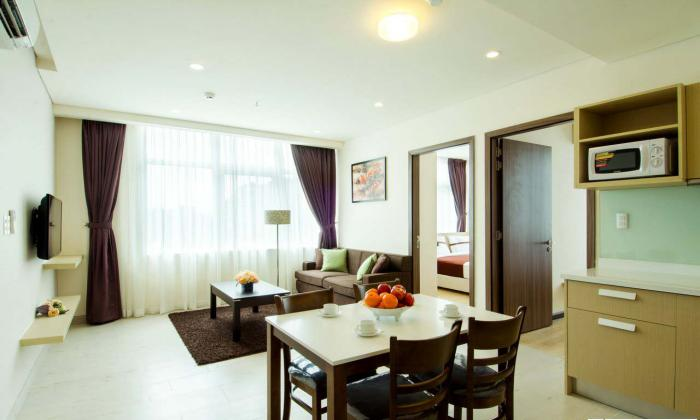 Luxurious Two Bedrooms Serviced Apartment For Lease, Pasteur St,Dist 3