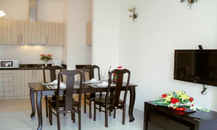 Luxury One Bedroom Saigon Mansion Serviced Apartment For Rent, Dist 1, HCMC