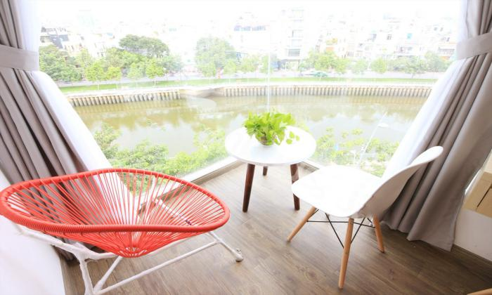 Good River View One Bedroom Serviced Apartment in District 3 HCMC