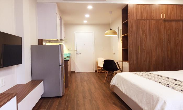 Cool Designed Studio Apartment in Nguyen Cuu Van Street Binh Thanh District HCMC