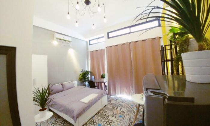 Stunning Style Studio Serviced Apartment in Binh Thanh District HCMC