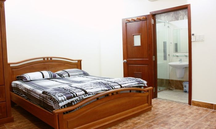 Studio Apartment For Rent on Nguyen Cuu Van Street,  Binh Thanh Dist.