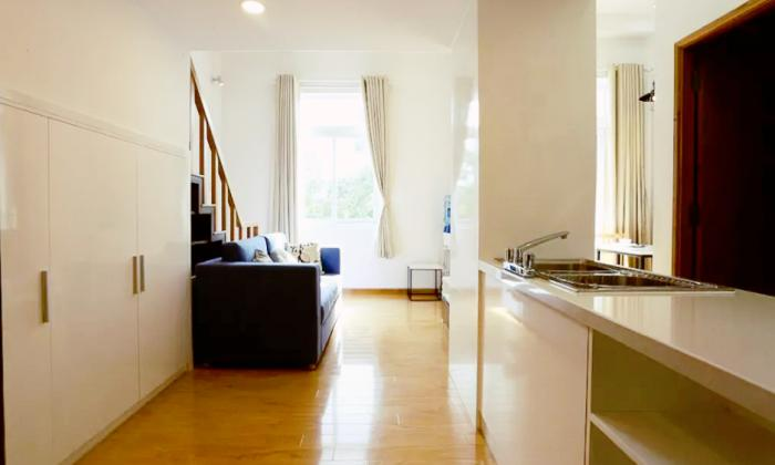 Attractive One Bedroom Serviced Apartment in Binh Thanh District HCMC