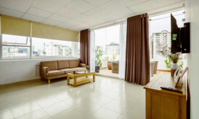 Nice Penthouse One Bedroom Serviced Apartment in Pham Viet Chanh St Binh Thanh Dist