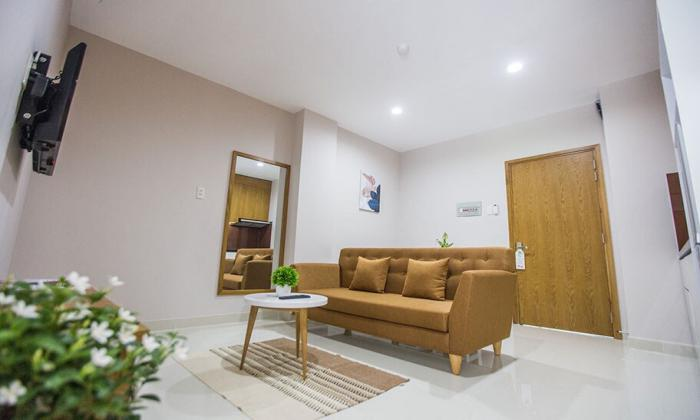 One Bedroom Serviced Apartment Facing to Canal Binh Thanh District HCM City