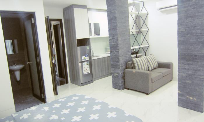 Studio Serviced Apartment in Nguyen Huu Canh St Binh Thanh District HCMC