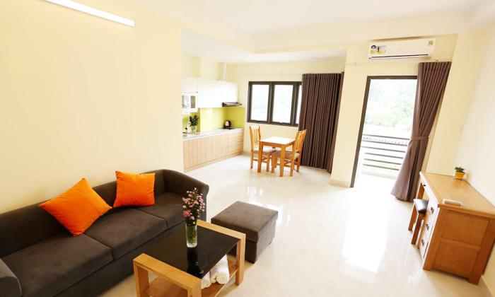 River And Park View One Bedroom Serviced Apartment in Binh Thanh District HCMC