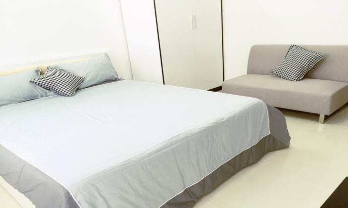 Newly One Bedroom Serviced Apartment For Rent in Binh Thanh District