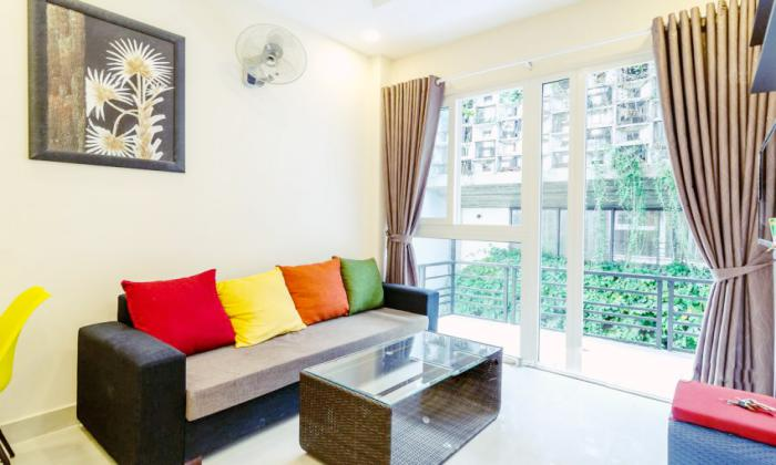 Very Attractive One Bedroom Serviced Apartment in Binh Thanh District HCMC