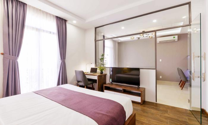 Amazing One Bedroom Spring House Serviced Apartment in Binh Thanh District HCMC