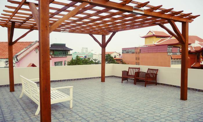 Nice Serviced Apartment For Rent In Phu Nhuan District, HCM City
