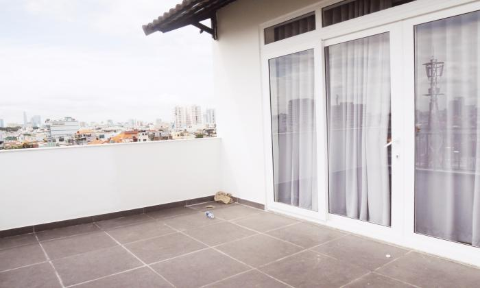 Big Balcony Two Bedroom Serviced Apartment in Phu Nhuan District HCMC