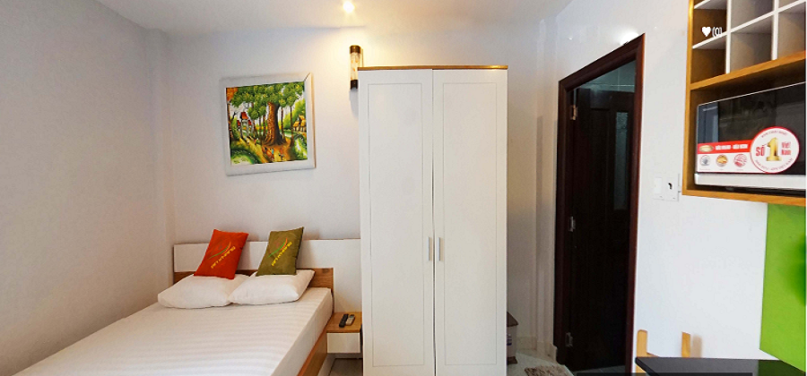 Nice Studio Serviced Apartment in Phu Nhuan District HCM City