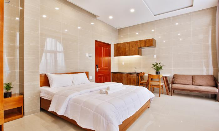 Cool Studio Serviced Apartment For Rent in Phu Nhuan District Ho Chi Minh City