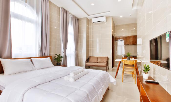 Studio Trust Home Serviced Apartment For Lease in Phu Nhuan District HCMC
