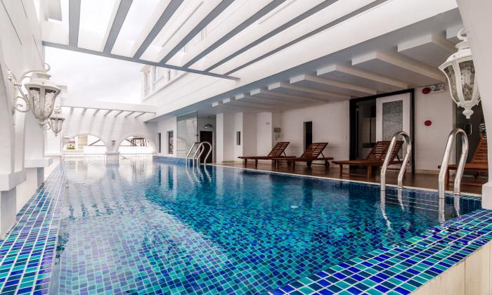 Nice Swimming Pool One Bedroom Serviced Apartment in Phu Nhuan District HCMC