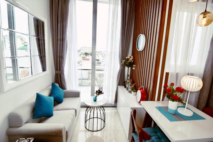 Brand New Modren Style One Bedroom Apartment in Phu Nhuan District Ho Chi Minh City