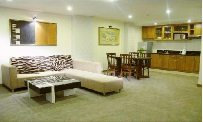 Serviced apartment for rent in Dao Duy Anh street  Phu Nhuan District