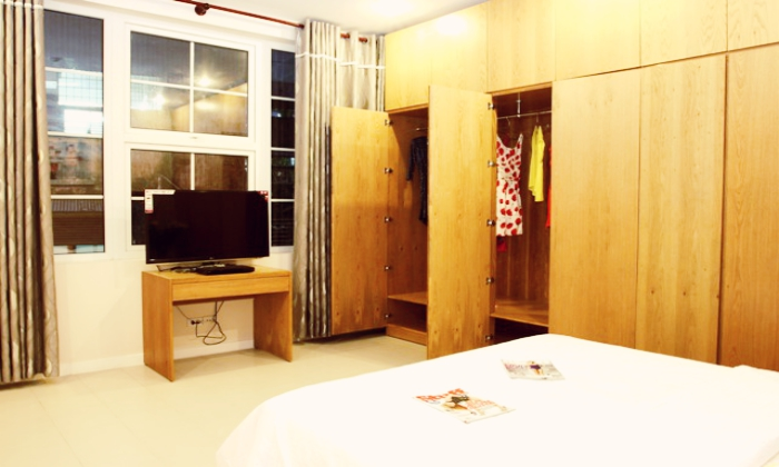 Serviced Apartment For Rent On Nguyen Van Troi Street, District 3, HCMC