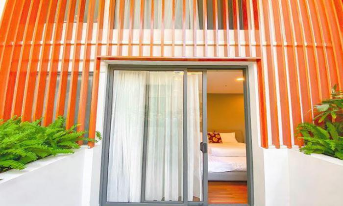Nice Balcony One Bedroom Lumos Serviced Apartment in Phu Nhuan District HCM City