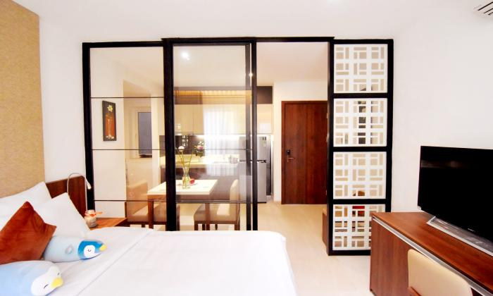 Modern One Bedroom Apartment Near Centre Point Office Phu Nhuan District HCMC