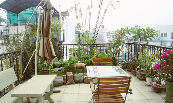 Amazing Apartment For Rent On Le Van Sy Street, Phu Nhuan HCMC