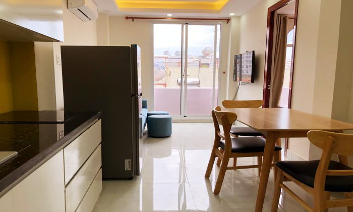 Nice Balcony One Bedroom Apartment For Lease in Tan Binh District HCMC