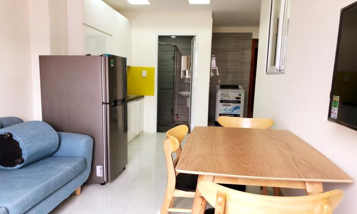 Bright Light One Bedroom Apartment For Rent in Tan Binh District Ho Chi Minh City
