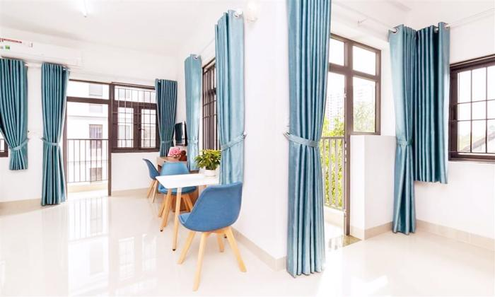 Attractive Fresh Light Studio Serviced Apartment For Rent in Ho Chi Minh City