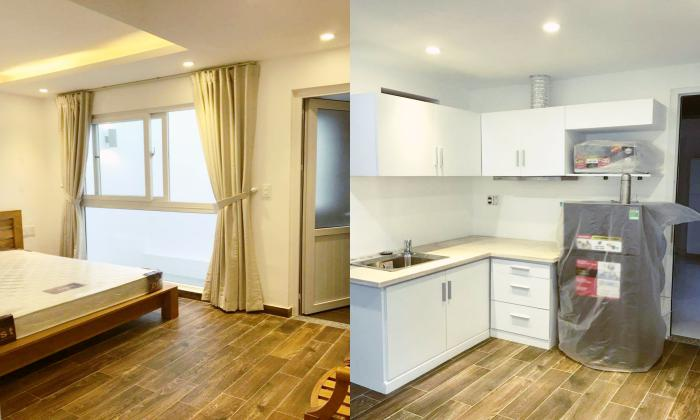 Bright Light Designed One Bedroom Serviced Apartment in Tan Binh District HCMC
