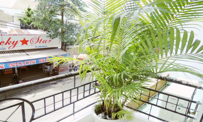 Nice Balcony Studio Serviced Apartment in Tan Binh District HCMC