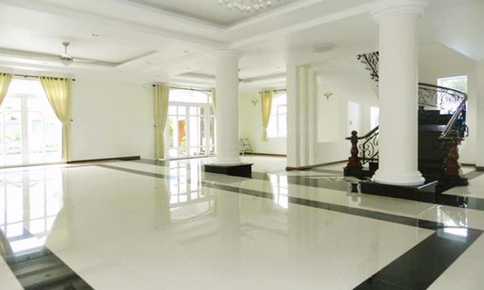 Very Clean and New Villa For Rent in Tong Huu Dinh Street Thao Dien District 2 HCMC
