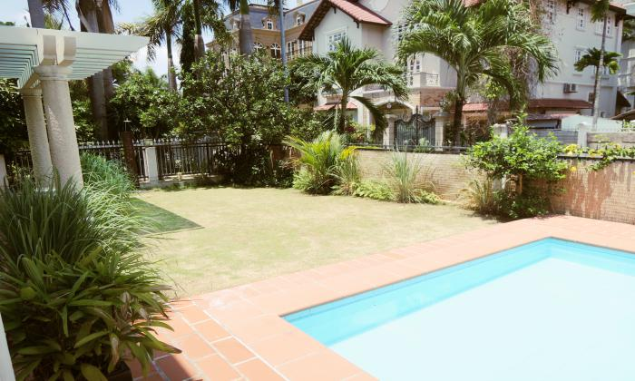Five Bedrooms Villa For Rent in Thao Dien  District 2, HCM City