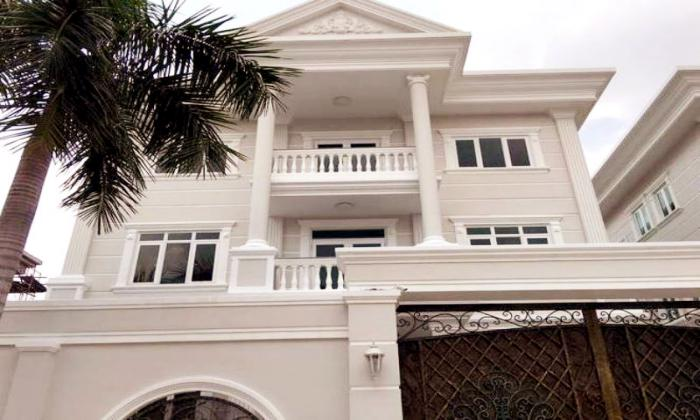 Modern Villa For Rent in Nguyen Van Huong Thao Dien District 2 HCMC
