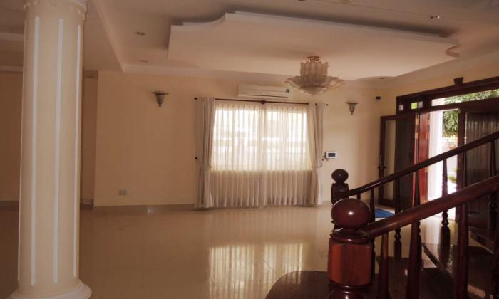 Unfurnished Five Bedrooms Villa For Rent in Quoc Huong Street District 2 HCMC