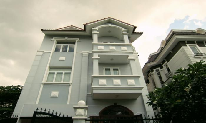 Lovely Quiet Villa For Rent In Eden Compound, Thao Dien Ward