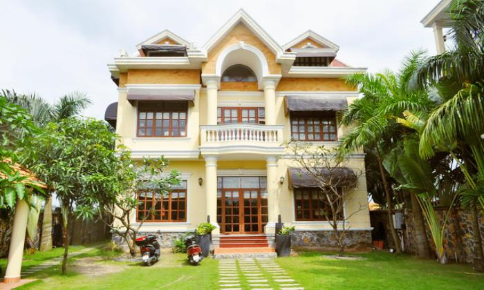 Big Luxury Villa in Phu Tuong Compound, Thao Dien District 2 HCMC