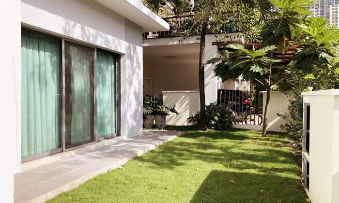 Partly Furnished Riviera Villa For Rent in An Phu District 2 HCMC