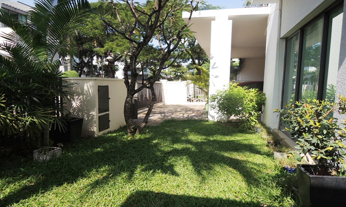 Partly Furnished Villa Riviera For Rent in District 2 HCM City