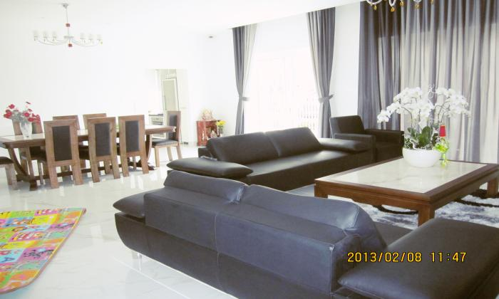 Modern Villa For Lease in Riviera Compound An Phu District 2 HCM City