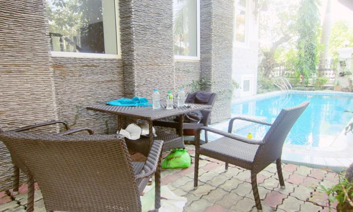 Partly Furnished Villa For Rent In Thao Dien Ward District 2 HCM City