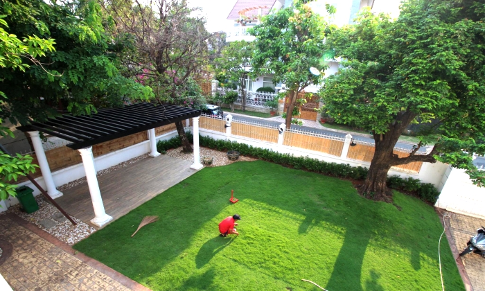 Lovely Villa Garden Pool For Rent in Compound Thao Dien District 2 HCMC