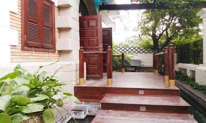Nice Pool Four Bedroom Villa For Rent in Thao Dien Ward District 2 HCMC